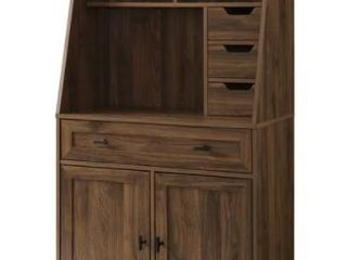 Carson Carrington Modern Desk   Hutch Cabinet  Retail 345 99