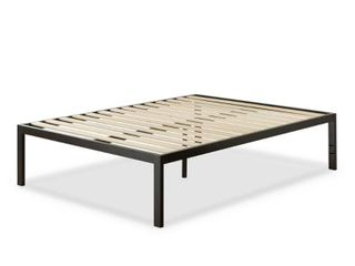 Zinus lorrick Black Metal King Platform Bed Frame