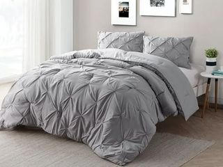 Carbon loft Turner Alloy Pin Tuck Twin Xl Comforter Set