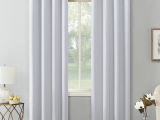 Sun Zero Hayden Energy Saving Blackout Grommet Curtain Panel Pair