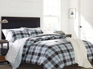 Eddie Bauer lewis Plaid Cotton Twin Duvet Cover Set