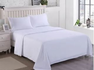 Egyptian Comfort 2200 Count 4 Piece Queen Bed Sheet Set