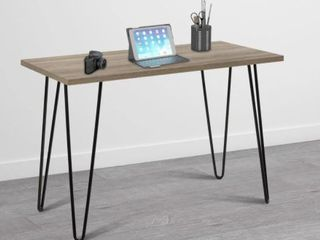 Avenue Greene Isaac Weathered Oak Black Retro Desk  Retail 91 49