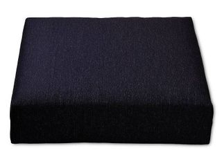 Outdoor Deep Seat Cushion Black  Set of 2