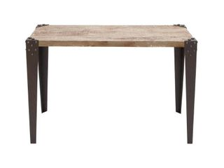 Industrial 30 Inch Rectangular Wooden Console Table by Studio 350  Retail 213 99