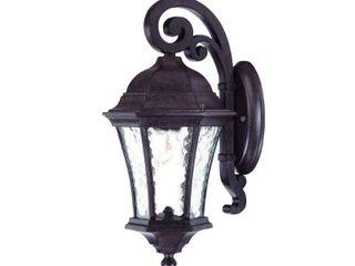 Waverly 1 light Black Coral Wall lantern  Retail 96 00