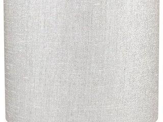 Classic Drum Metallic Fabric lamp Shade  8  to 16  Bottom Size