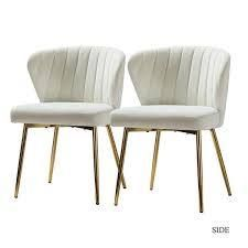 Milia Dining Chair Set of 2  Retail 183 99