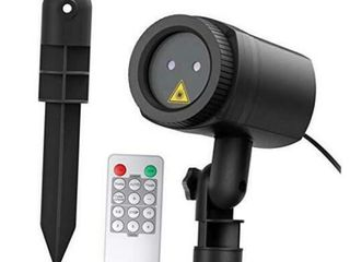 Christmas birddogdistributing com red green moving laser light projector with rf remote