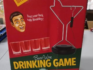 Wembley Buzz Wire Drinking Party Game Shots Bachelor Bachelorette Wine Whiskey