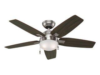 Hunter Antero 46 in  Brushed Nickel Indoor Ceiling Fan 59177
