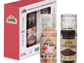 Himalayan Chef Salt and Pepper Set