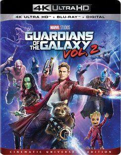 Guardians Of The Galaxy  Volume 2  4K UHD   Blu ray   Digital