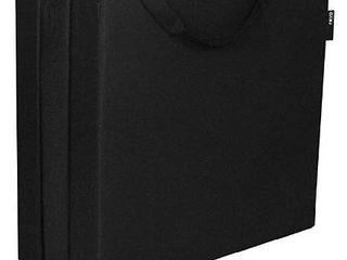 Hide A Mat Twin Black Trifold Mattress  Mesh Poly