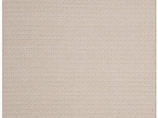 Ivory Beige Geometric Flatweave Woven Area Rug 8 X10    Safavieh