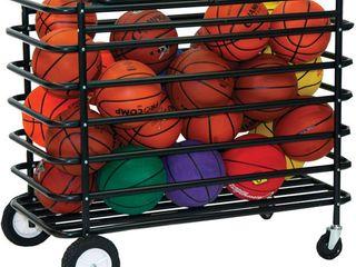 Champion Sports Ultimate lockable Mobile Ball locker  Black