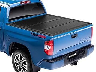 Gator EFX Hard Tri Fold Truck Bed Tonneau Cover   GC14020   fits 2019 2020 Chevy Silverado GMC Sierra 5  8  Bed  New Body Style    MADE IN THE USA