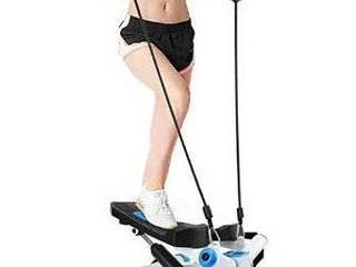 TOlOCO Stepper with Resistance Bands Adjustable Mini Steppers for Exercise  Stair Stepping Fitness Equipment for Indoor
