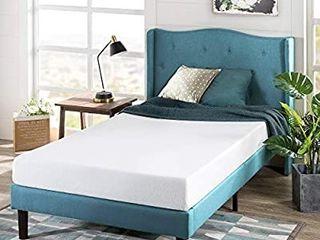 Zinus 6 Inch Green Tea Memory Foam Mattress   CertiPUR US Certified   Bed in a Box   Pressure Relieving  Narrow Twin