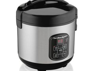 Hamilton Beach 8 Cup Programmable Rice Cooker and Steamer