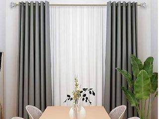 QITERI 3 4 Inch Curtain Rod Single Window Rods 72 to 144 Inches Acrylic Diamond Finials Gold Nickel