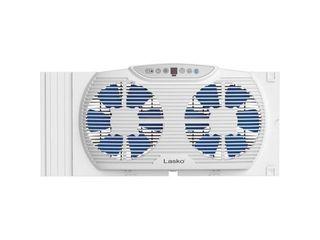 lasko W09560 3 Speed   Thermostat  Reverse Airflow  Timer  Bluetooth   10 23  Height x 21 69  Width