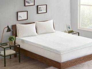 Sleep Philosophy 3 Zone 3  Memory Foam Queen Mattress Topper