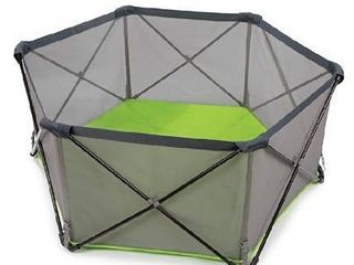 Summer Pop an Play Portable Playard  Green a lightweight Play Pen for Indoor and Outdoor Use a Portable Playard with Fast  Easy and Compact Fold