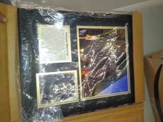 Vietnam Memorial Picture in Frame   No Glass