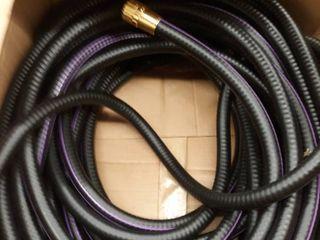 Black Purple water hose