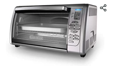 Black and Decker Digital Convection Countertop Oven   Not Inspected