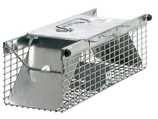 Havahart 1025 live Animal Two Door Squirrel  Chipmunk  Rat  and Weasel Cage Trap   Not Inspected