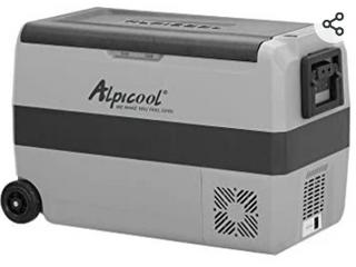 Alpicool Rolling Self Controlled Digital Cooler