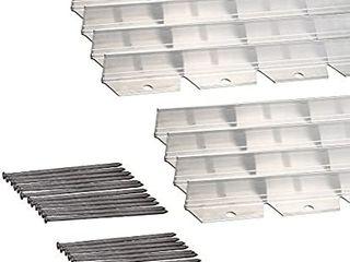 Dimex EasyFlex Commercial Grade Aluminum landscape Paver Edging Kit  48 Feet  1856 48C