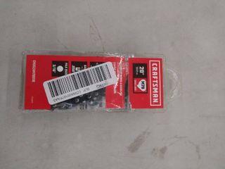Craftsman 20  50 8cm Gas Saw Chain S205 Cmxgzam700118 M78 Drive links  B4