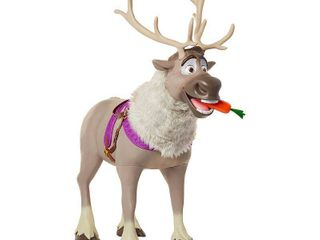Playdate Sven Kid Size Feature Sven from Disney Frozen 2 with working sound effects and Interactive Carrot