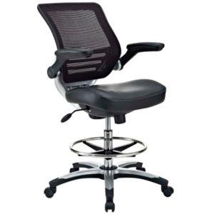 Office Chair Modway Midnight Black  DAMAGED