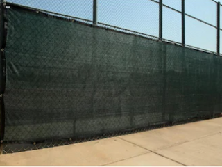 Box Of Fence Screen Green an Black   Not Inspected   Size  length IJ