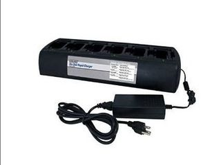 Power Products TWC6M   6 TWP MT3 6 Unit Bank Gang Rapid Charger for Motorola CP200 CP200D PR400 CP150