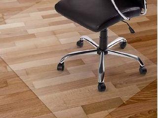Clear Chair Mat  Hard Floor Use