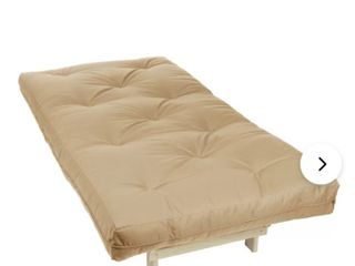 Futon mattress tan