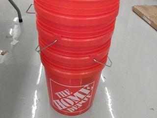 4 Home Depot Buckets