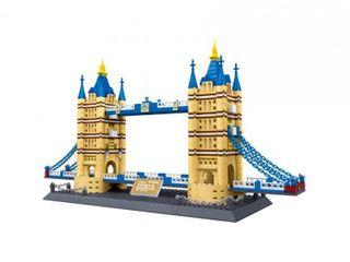 Cis associates The Tower Bridge Building Blocks  Multicolor