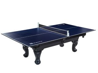 MD Sports Table Tennis Conversion Top with Retractable Net  No Assembly Required  108  x 60  Blue