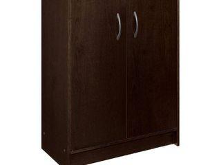 ClosetMaid  8925 Stackable 2 Door Organizer  Espresso