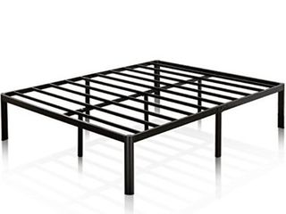 Zinus Van 16 Inch Metal Platform Bed Frame with Steel Slat Support   Mattress Foundation  Twin