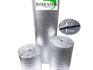 1  SmartSHIElD  3mm 48 X100ft Reflective Insulation roll  Foam Core Radiant Barrier   PURE AlUMINUM