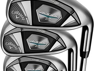 Callaway Golf 2020 Rogue X Iron Set  5 pw  Aw  Mens Right Hand  Reg Flex Steel  5  6    7