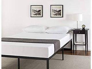 14 Inch Platform Bed Frame  Mattress Foundation  No Box Spring Needed  Steel