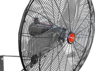 OEM TOOlS 29 99 Inch High Velocity Oscillating Wall Mount  Old Model Commercial Outdoor Fan  7100 CFM  Black